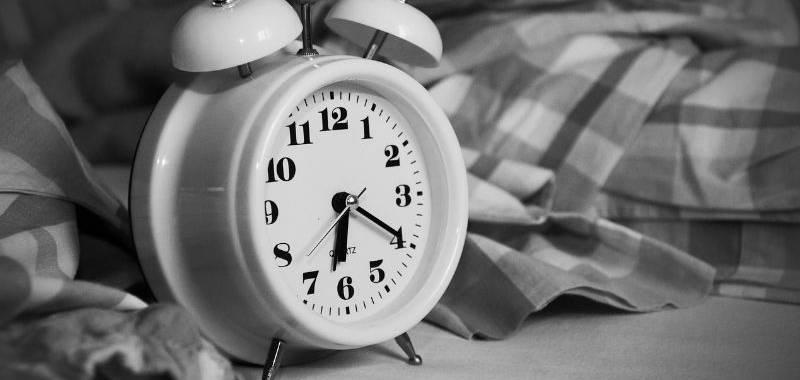 Never wake a sleeping mummy - alarm clock