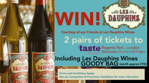 WIN! Les Dauphins Wines Giveaway!