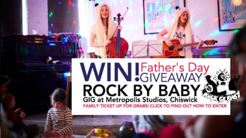 Rock by Baby – Family Ticket GIVEAWAY for Father's Day!