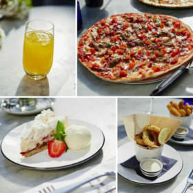 Summer Menu Pizza Express