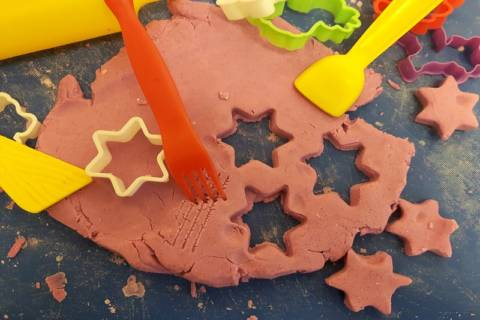 Autumn Activities: Making Playdough