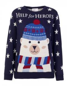 help for heroes xmas jumper