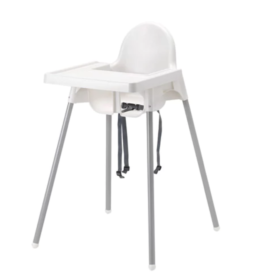 Highchair with tray ANTILOP