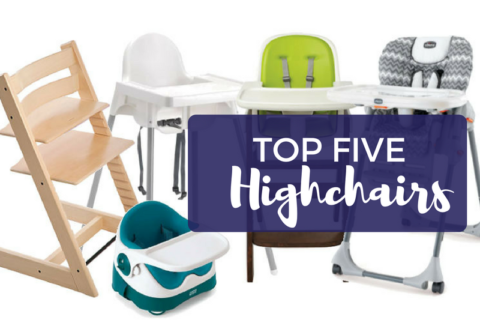 The Motherload Guide: Top 5 Highchairs