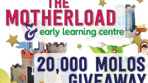 20,000 MOLOs – ELC Giveaway!