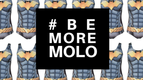 #BeMoreMOLO: Batgirl's Random Act of Kindness