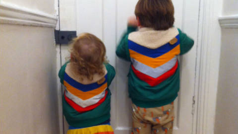 Getting Ready For a Day Out: Dad versus Mum