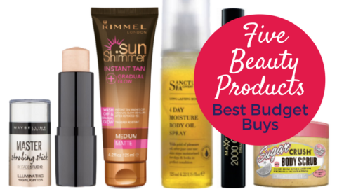 Five Beauty Products: Best Budget Buys