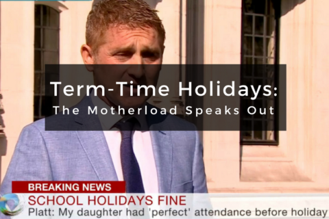 Term-time Holiday Ban: The Motherload Speaks Out