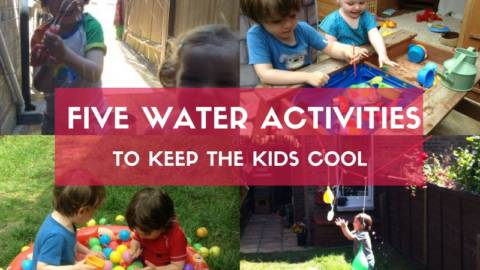 Five Water Activities To Keep The Kids Cool