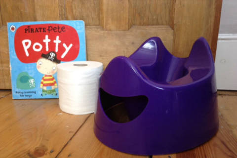 Potty Training Hell? MOLOs Help!