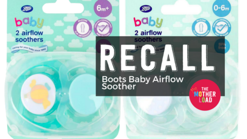 ALERT: Boots Baby Airflow Soothers – RECALL