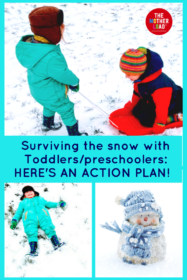 Do you need an action plan to survive the UK Snowfall 2018 with toddlers and preschoolers? Alison has put together a brilliant list of activities to save your sanity!
