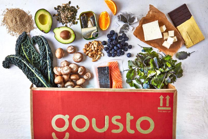 Gousto Recipe Box Ten to Table Range Review
