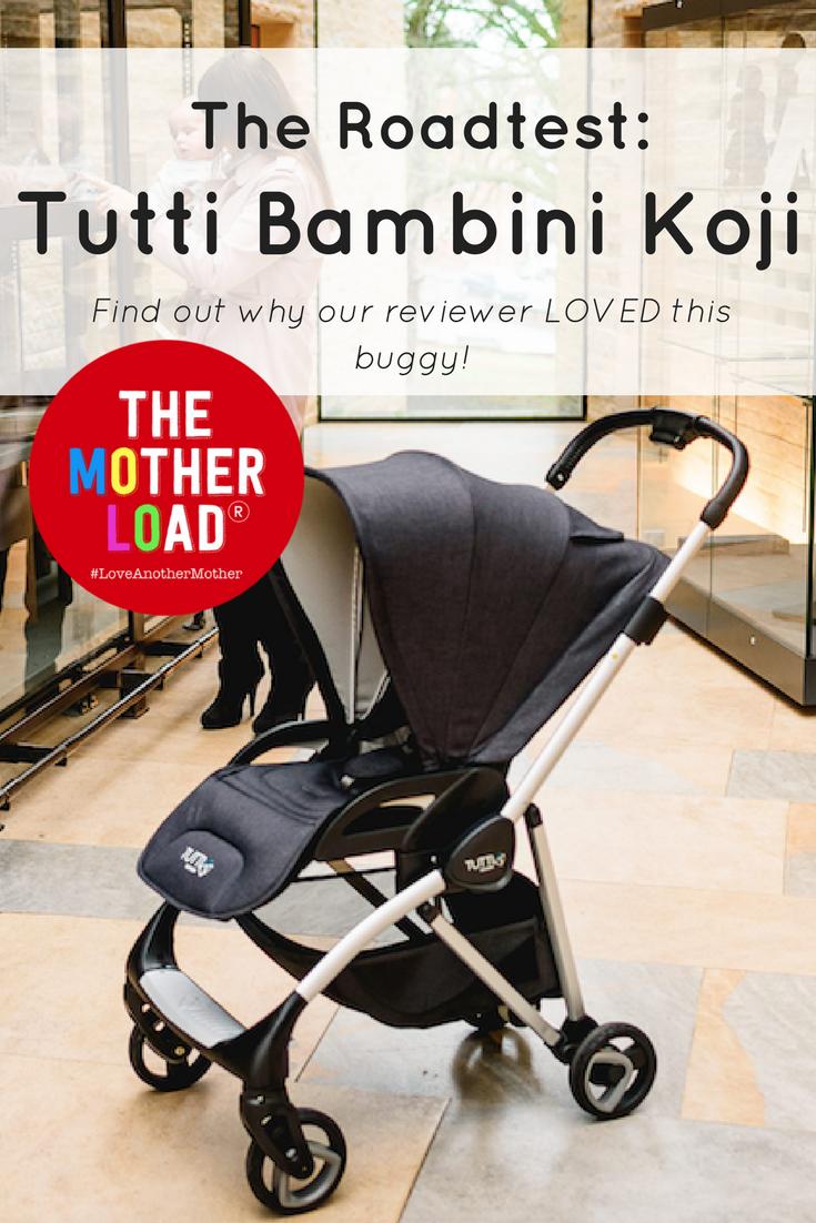 Tutti Bambini Koji Buggy review roadtest