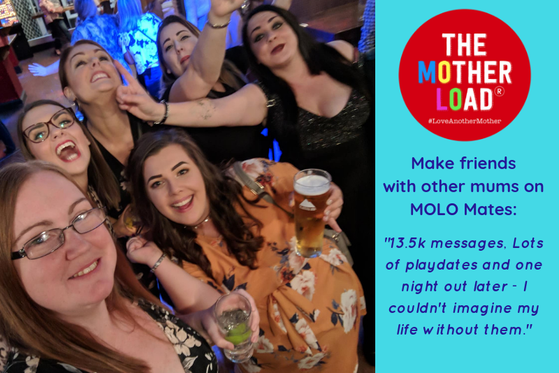 Making Friends With MOLO Mates ~ The Motherload Blogzine & Community
